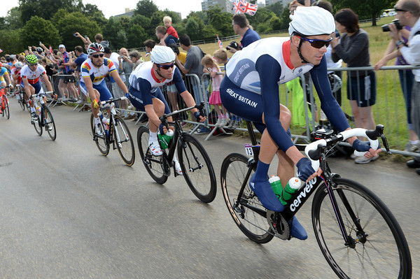 David Millar is already pacing Mark Cavendish into Richmond Park...