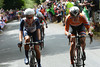 Marianne Vos has attacked, but she has Lizzie Armitstead with her, and the move fails...