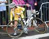 Amanda Spratt also needs a new wheel...