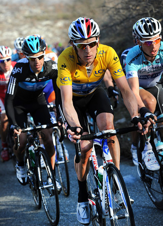 Bradley Wiggins is only thinking of tomorrow's Col d'Eze TT...