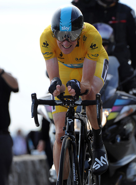 "Braldey Wiggins was up to the task of winning Paris-Nice overall, and he won the TT stage with a time of 19' 12""..."