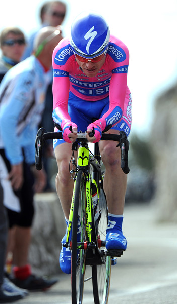 Damiano Cunego climbed well in the TT to secure 9th place at 59-seconds...