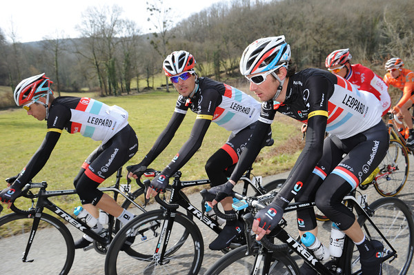 Frank Schleck and Andreas Kloden are without two more teamates after illness took Bakelandts and Posthuma out of the race...