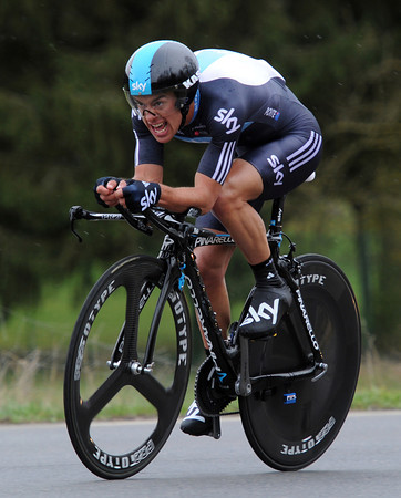 Richie Porte became best Australian by taking 16th at 17-seconds...