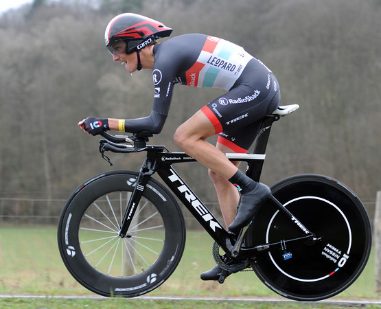 "Andy Schleck lost 1'01"" in today;s opening TT - he took 142nd place..!"