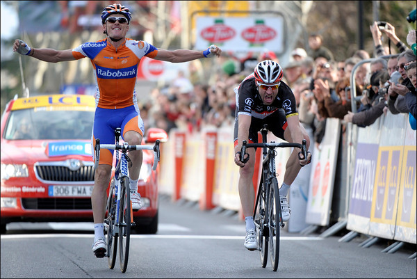 Luis Leon Sanchez has won stage six - but it's Voigt who wins the most praise at the age of 40..!
