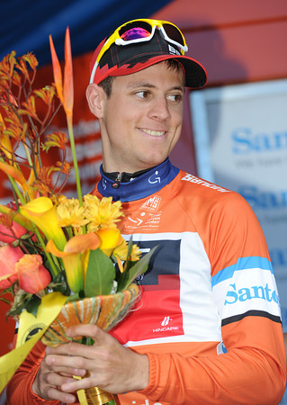 Martin Kohler is the new race-leader, by just two seconds from Andre Greipel..!