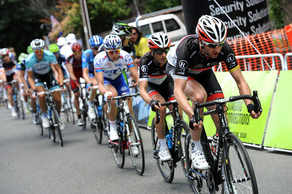 Jens Voigt is chasing Madrazo down - is this a team order or a way of helping ex-Leopard teamate Clarke to stay away..?
