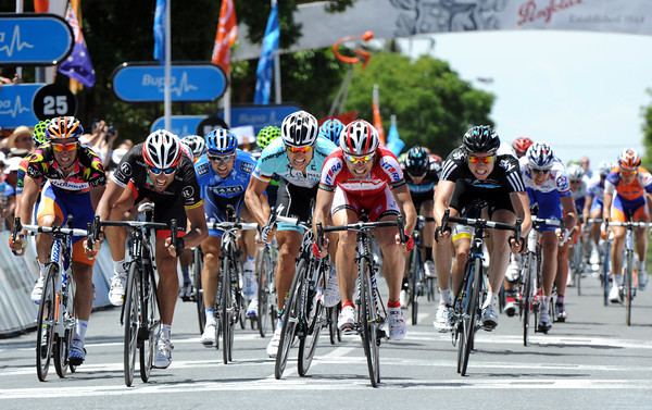 Without Greipel, today's sprint-finish is an even tighter affair...