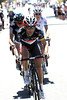 Tiagfo Machado has attacked on Willunga with Danny Pate and Rohan Dennis...