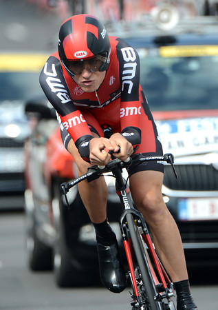 Tejay Van Garderen took a great 4th place, ten-seconds down...