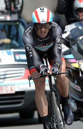 Jens Voigt took 18th place, 19-seconds off the winning pace...