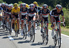 Jens Voigt is starting to fell like his old-self at the head of the chase...