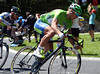 Peter Sagan is in the escape to collect sprint-points along the way - he has Goss on his wheel as the sprint looms...