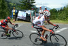 Tejay Van Garderen and Cadel Evans have attacked with 15-kilometres of climbing left...