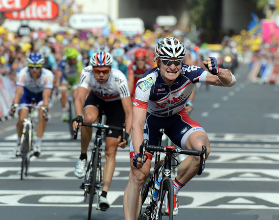 Andre Greipel wins into Cap d'Agde - it is his third stage-win of this Tour..!