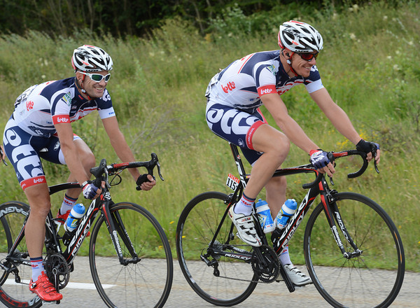 Vive Le Tour - Greg Henderson and Adam Hansen are still enjoying life on the road to Paris...