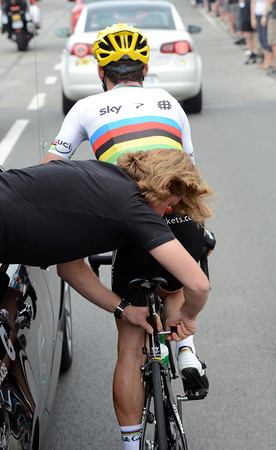 Mark Cavendish needs his seat-post fixing on a day that might see him net a stage-win...