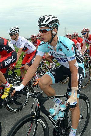 Tony Martin is feeling just a little bit uncomfortable with his damaged left wrist...