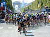 Team Sky is chasing already, with Rochie Porte leading the way...