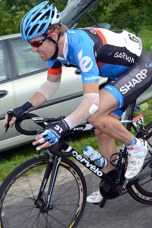 Tyler Farrar has been in the second crash, and is now feeling the pain of four crashes in four days..!