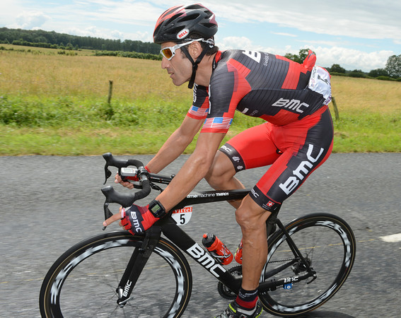 George Hincapie is unscathed thus far in the Tour, as are all of his BMC teamates...