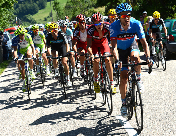 David Zabriskie has joined in the chase for Garmin-Sharp - maybe Dan Martin planning an attack later..?