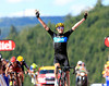 Christopher Froome wins stage seven - it is his first stage-win in his first Tour de France..!
