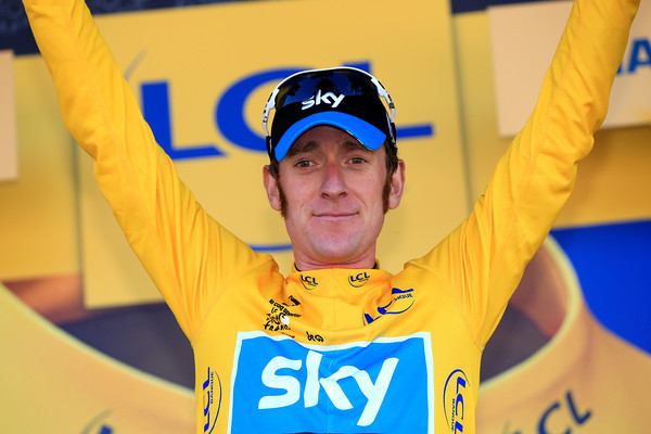 Bradley Wiggins has become the new leader of the Tour de France