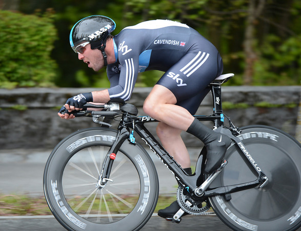 Mark Cavendish in the 2012 Tour de Romandie Prologue