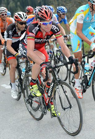Is cadel Evans going to attack now, or wait for tomorrow's difficult TT..?