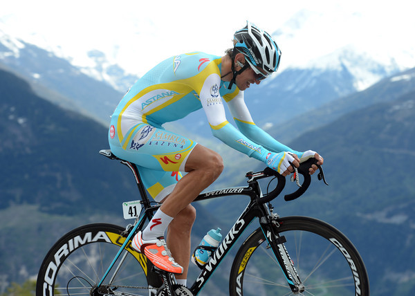 Roman Kreuziger took 5th place, 40-seconds down...