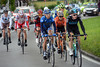 Salvatore Puccio and Karsten Kroon lead the day's hopeful escape after about 20-kilometres...