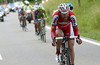 Isaychev makes a move over the last climb with six-kilometres to go...
