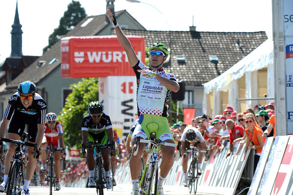 Peter Sagan wins stage six - it is his third win of the race this year..!
