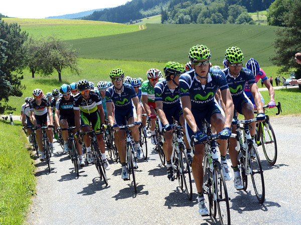 The Movistar team is chasing, but it'll be an easier day that usual...