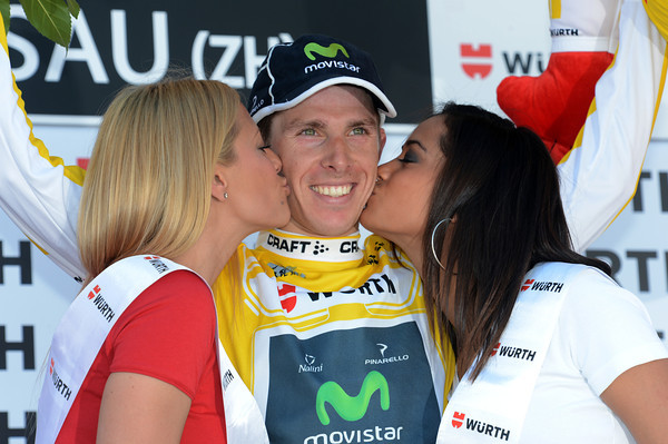 Rui Costa isn't just the race-leader still - the Portuguese rider actually increased his overall lead in the Tour de Suisse..!
