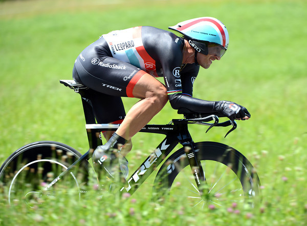 Fabian Cancellara rebuilt his confidence in a big way, taking 2nd place, just two-seconds off the winning time..!