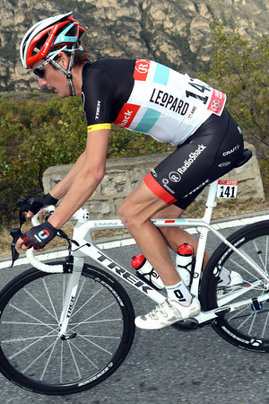 Andy Schleck has been dropped quite badly - he'll end the day third-from-last on G.C..!