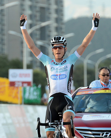 Tony Martin wins stage two into Mentougou by 46-seconds...