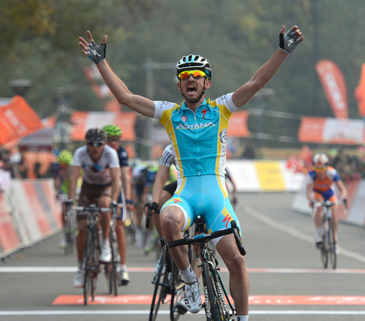 Francesco Gavazzi has won stage three of the 2012 Tour of Beijing..!