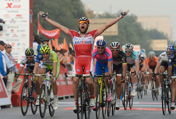 Marco Haller wins stage four ahead of Petacchi and Viviani...