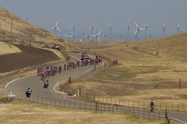 To hopefuls have attacked, but the headwind that feeds the wind farm will help keep them from surviving to the finish.