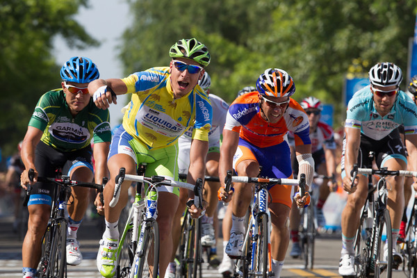 ...but no one is as fast as Sagan at this race! He takes his fourth victory over Haussler and Matthews.