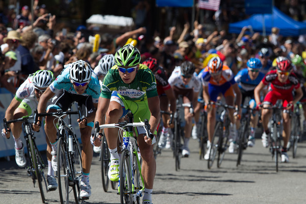 Sagan makes taking second place look easy - had the course been a kilometer longer...
