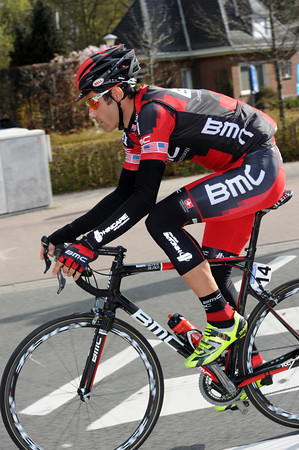 Into his 17th Ronde, George Hincapie has a thoughtful day ahead of him if he can finish...