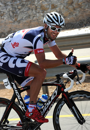 Kiwi Greg Henderson is happy with life as Andre Greipel's No1 lead-out man...