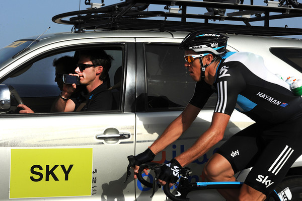 Sky's Matthew Hayman is getting a google-map guide to the finale from Servais Knaven...