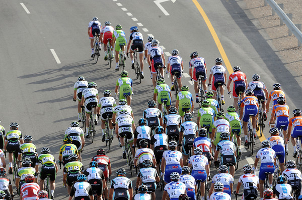 The big teams are starting to form a formidable strength at the front of the peloton...