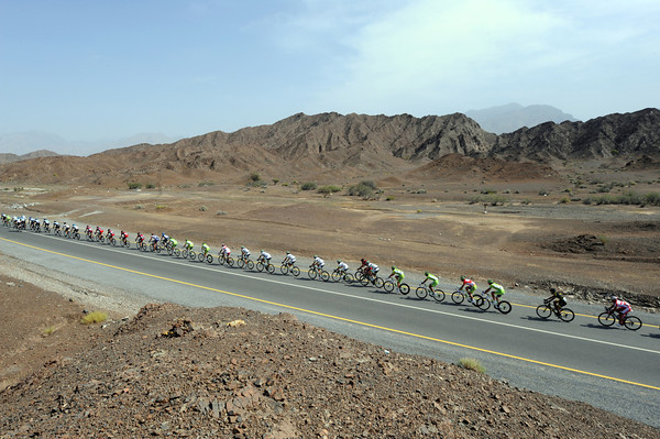 The peloton is about to leave the mountains behind after an entertaining first 50-kilometres...
